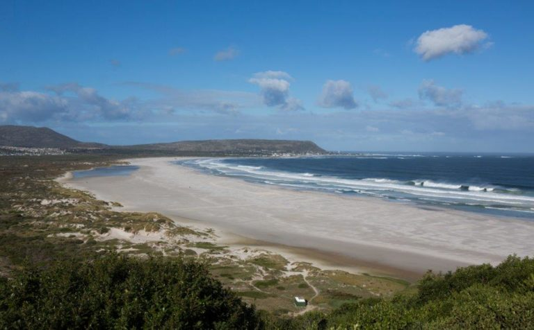 View of the Beach from Monkey Valley
