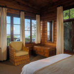 Self Catering Bedroom with View at Monkey Valley Resort
