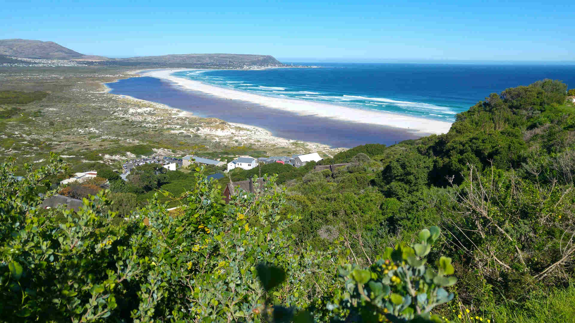 View of the Beach from Chapman's Peak above Monkey Valley
